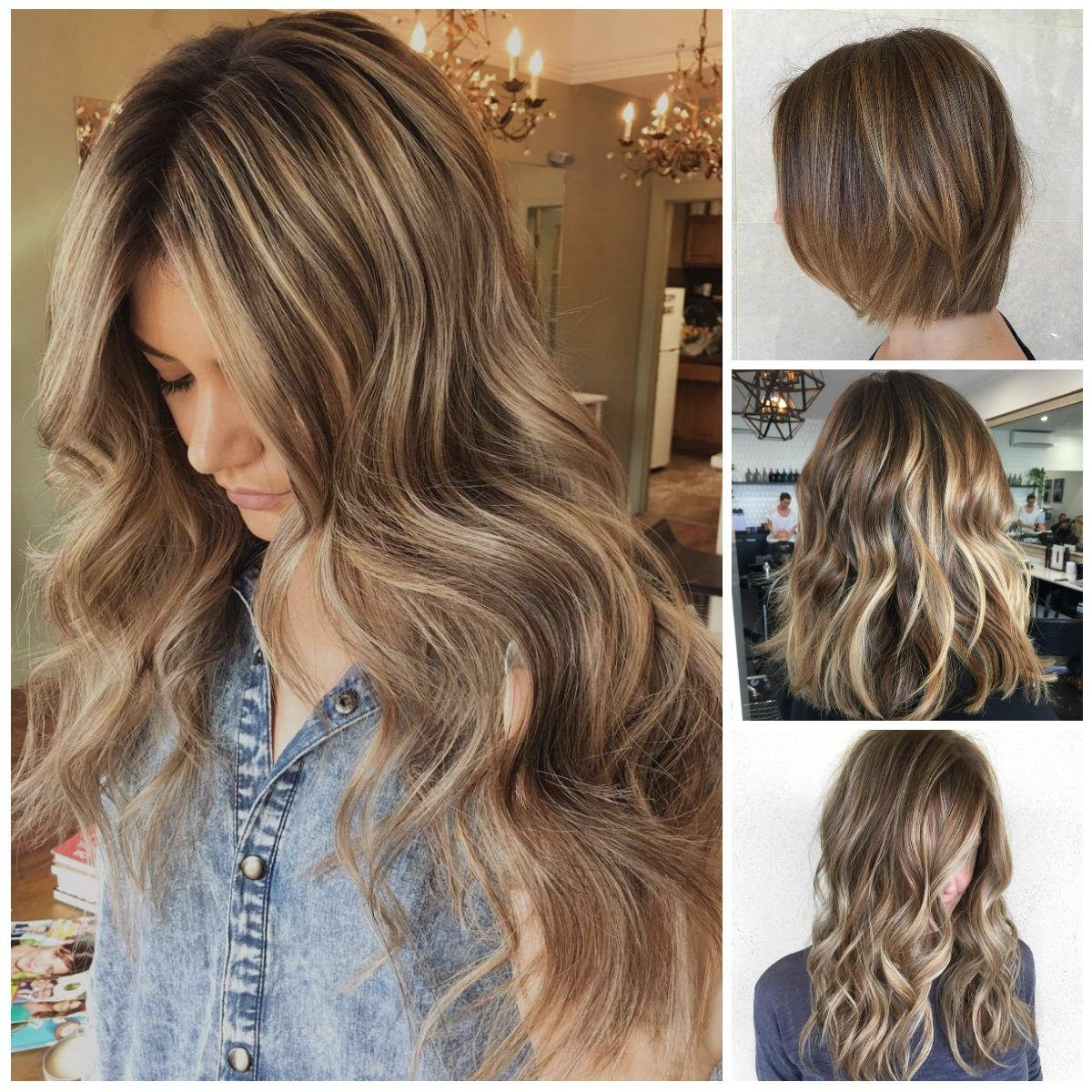Inspiring Light Brown Hair Color Adworks For Long Hairstyles Of Pertaining To 2018 Caramel Blonde Hairstyles (Gallery 19 of 20)