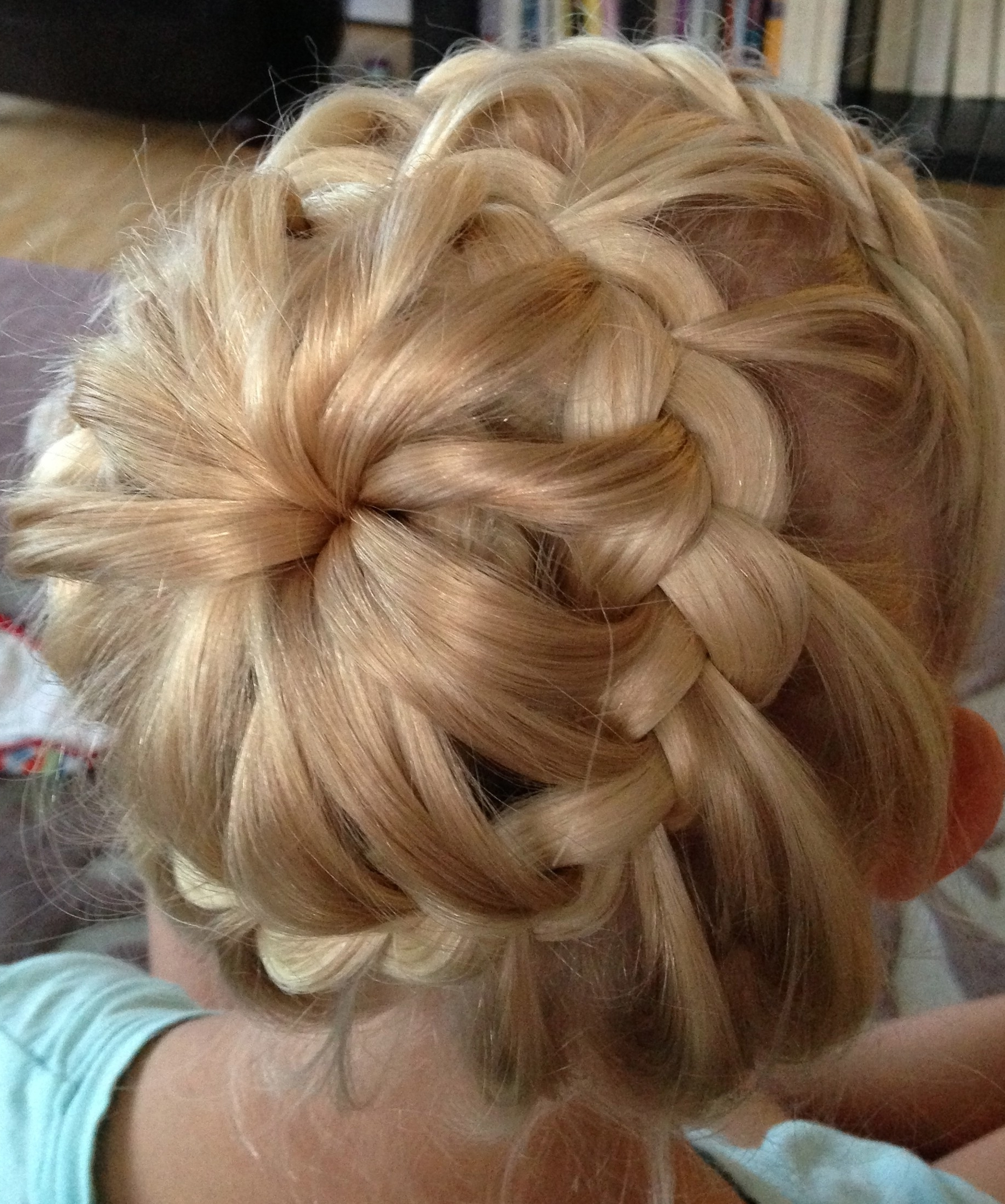 Jennishairdays – Page 6 Regarding Recent Messy Pony Hairstyles With Lace Braid (View 9 of 20)