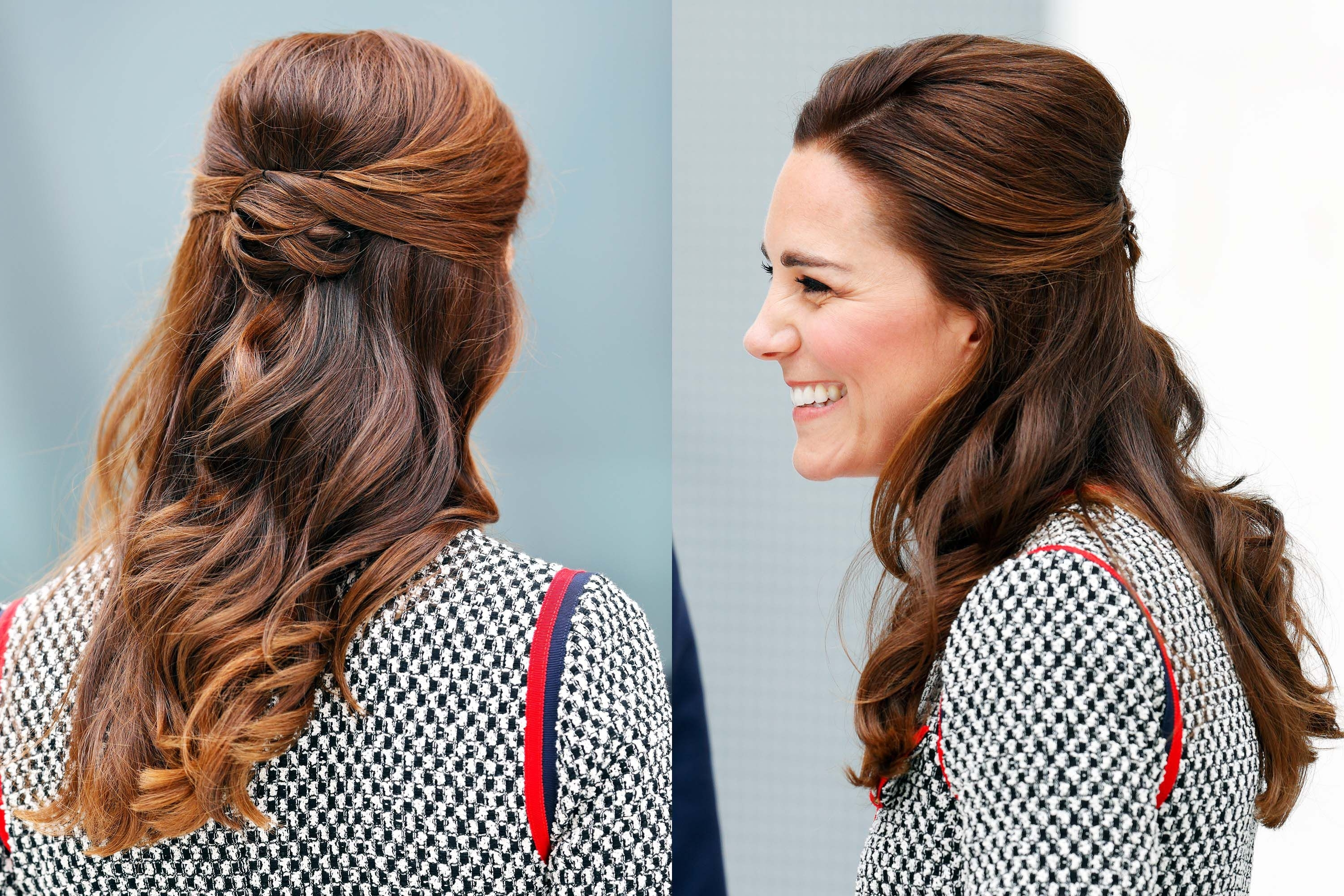 Kate Middleton's 37 Best Hair Looks – Our Favorite Princess Kate Within Newest Princess Ponytail Hairstyles (Gallery 15 of 20)