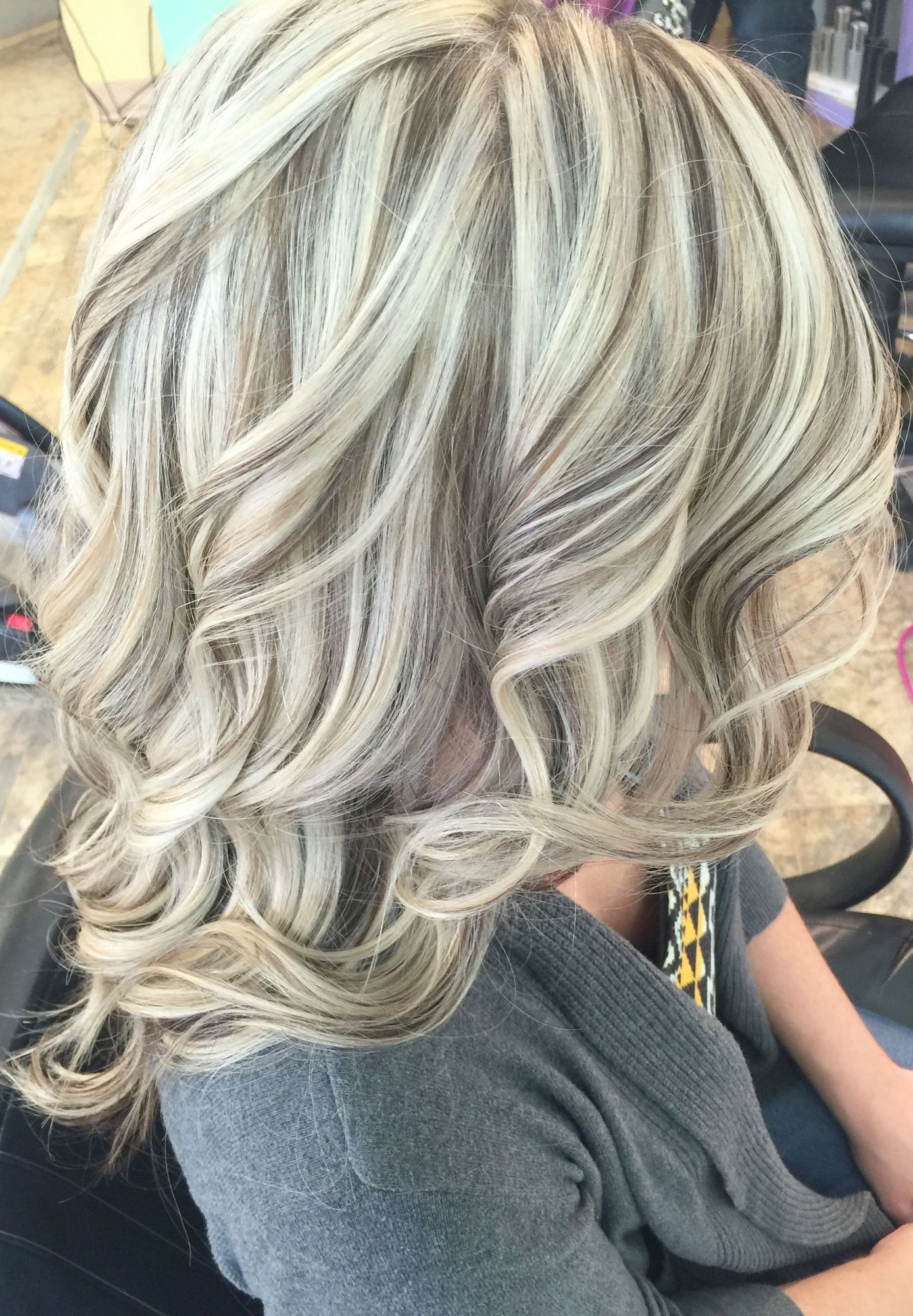 Latest All Over Cool Blonde Hairstyles Within Cool Blonde With Lowlights (View 3 of 20)