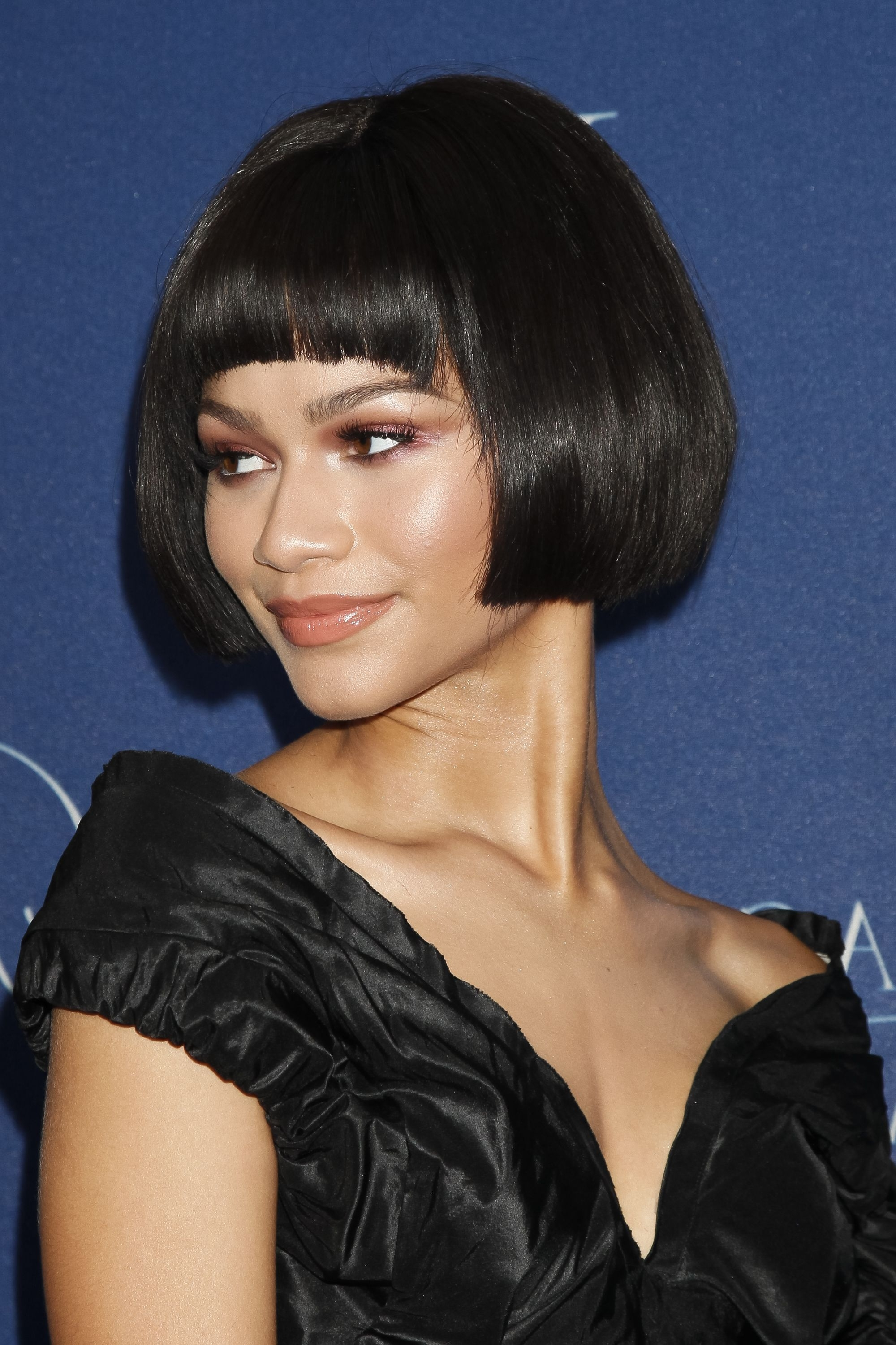 Latest Choppy Side Parted Pixie Bob Hairstyles In 28 Of Zendaya's Most Amazing Hair Transformations (View 13 of 20)