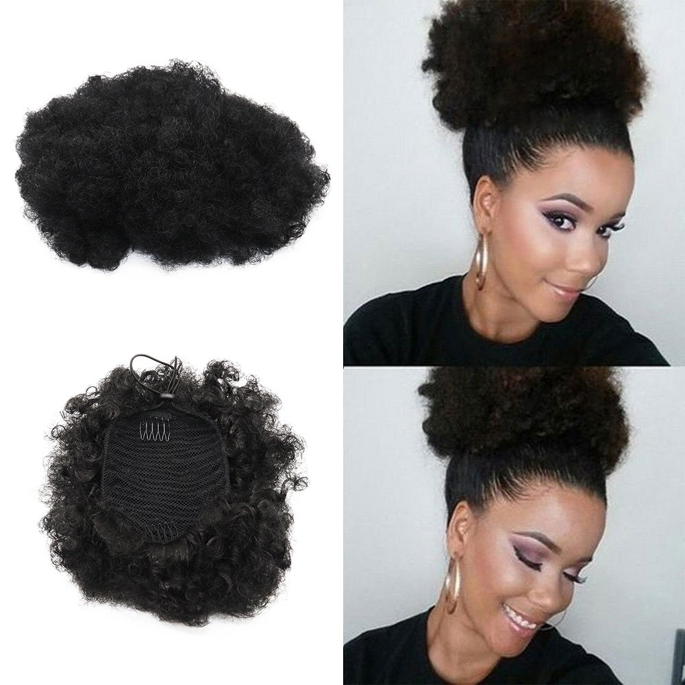 Latest Embellished Drawstring Ponytail Hairstyles Within Cheap Hair Puff, Find Hair Puff Deals On Line At Alibaba (View 12 of 20)