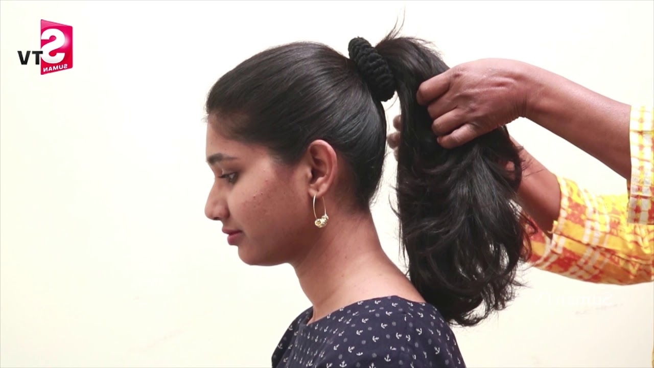 Latest Everyday Topsy Tail Pony Hairstyles – Beautiful Ponytail With Regard To Most Up To Date Fabulous Bridal Pony Hairstyles (View 15 of 20)
