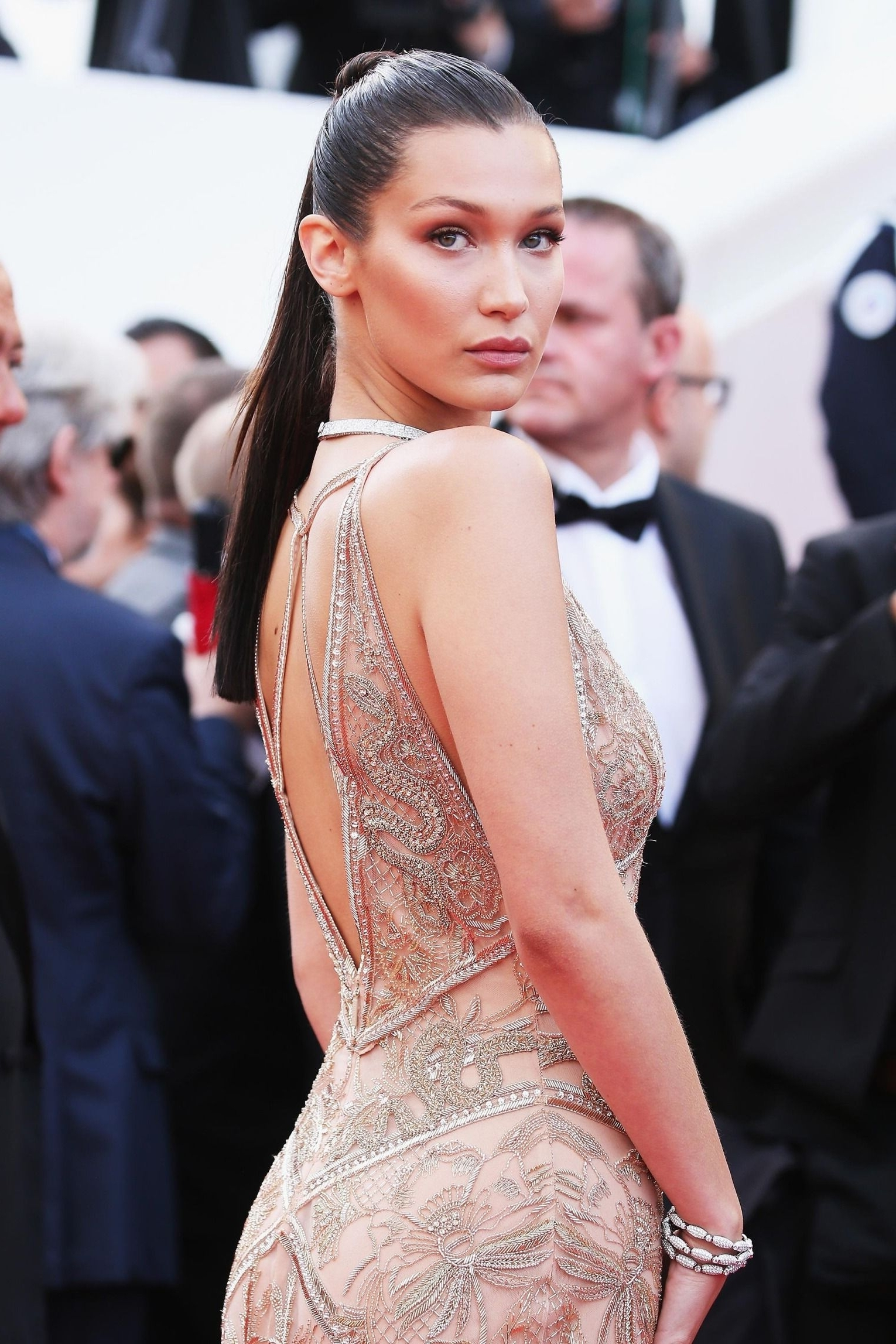 Latest Gigi Hadid Inspired Ponytail Hairstyles Throughout How The Red Carpet Ponytail Became Cannes's Breakout Beauty Trend (View 14 of 20)