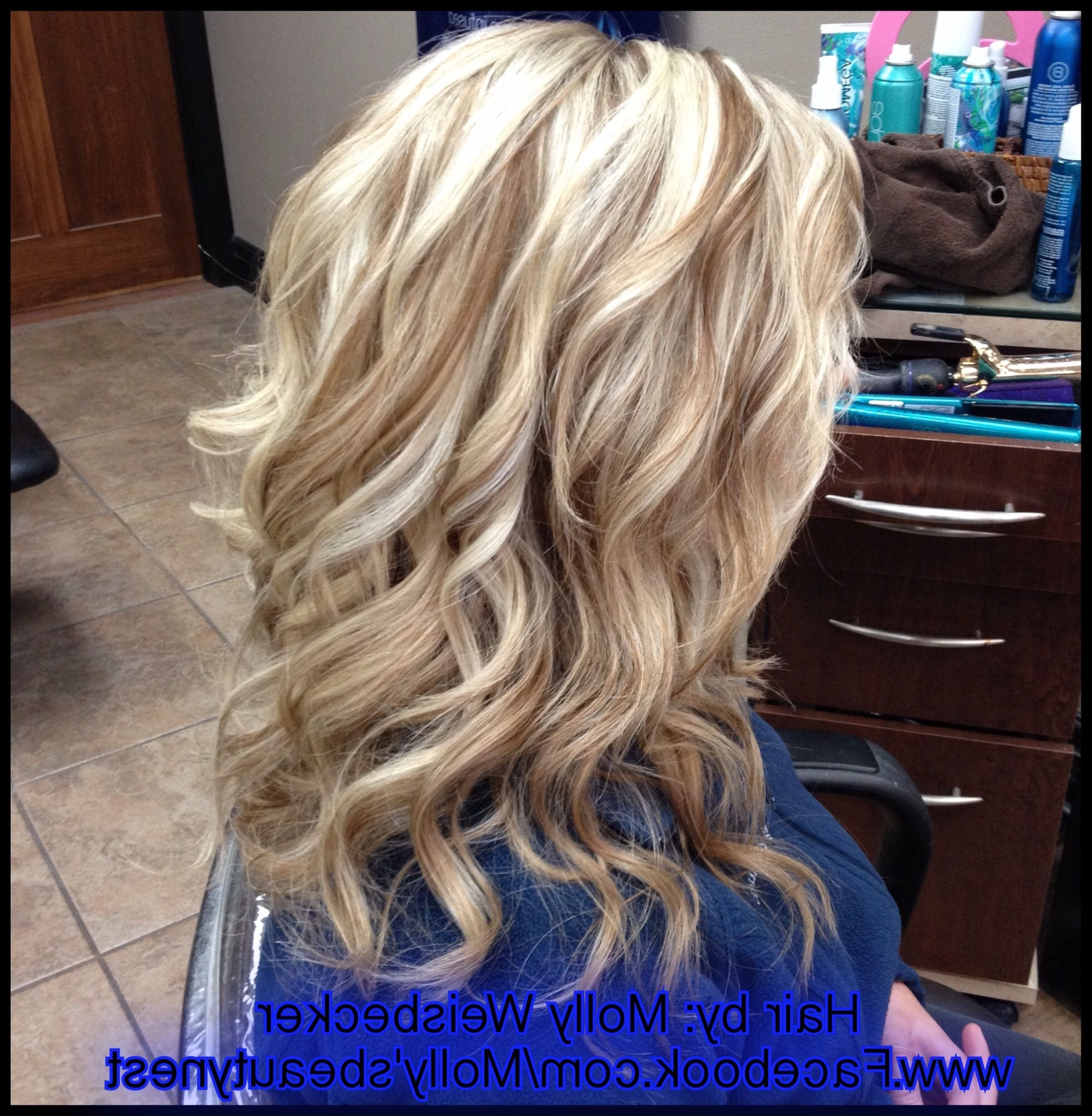 2020 Popular Light Golden Blonde With Platinum Highlights