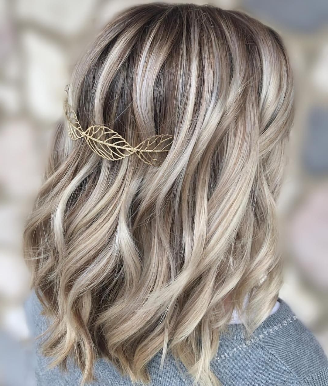 Latest Medium Blonde Balayage Hairstyles Intended For Icy Blonde/ Dimensional Blonde Balayage/ Ashy Blonde/ Low Lights (View 13 of 20)