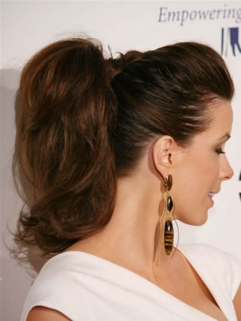 Latest Ponytail Hairstyles With Bump Intended For Tag Archive: High Ponytail Hairstyles With Bump (View 11 of 20)