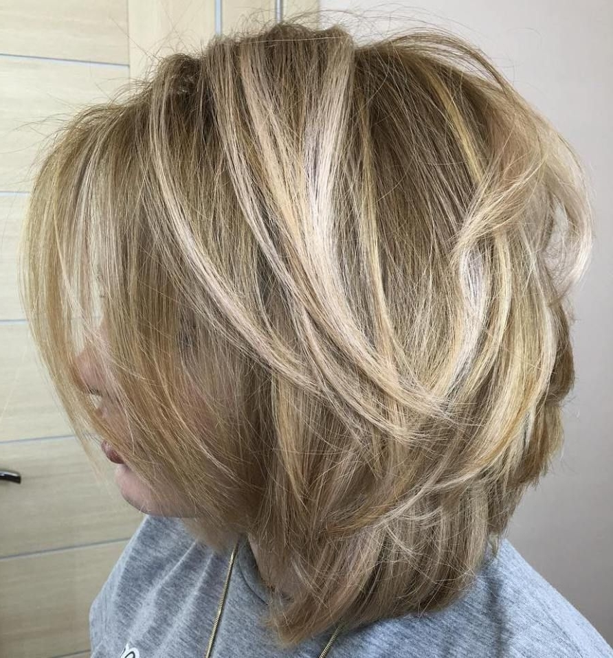 Latest Shaggy Highlighted Blonde Bob Hairstyles In 70 Fabulous Choppy Bob Hairstyles (View 15 of 20)
