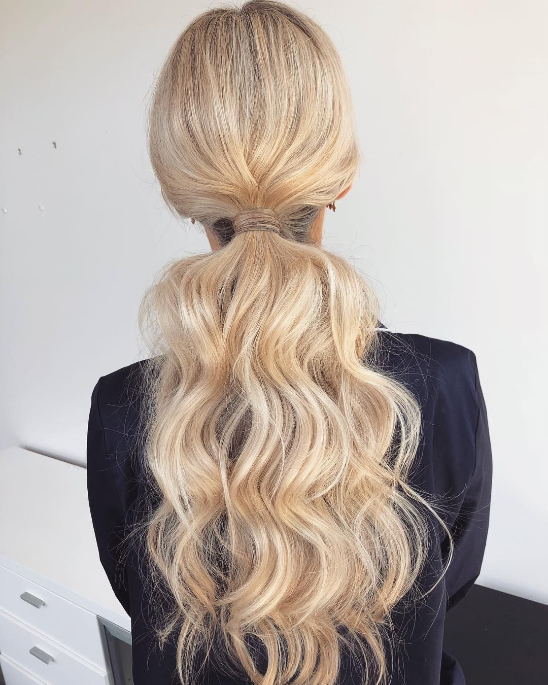 Latest Textured Ponytail Hairstyles Pertaining To Gorgeous Ponytail Hairstyle Ideas That Will Leave You In Fab (View 10 of 20)