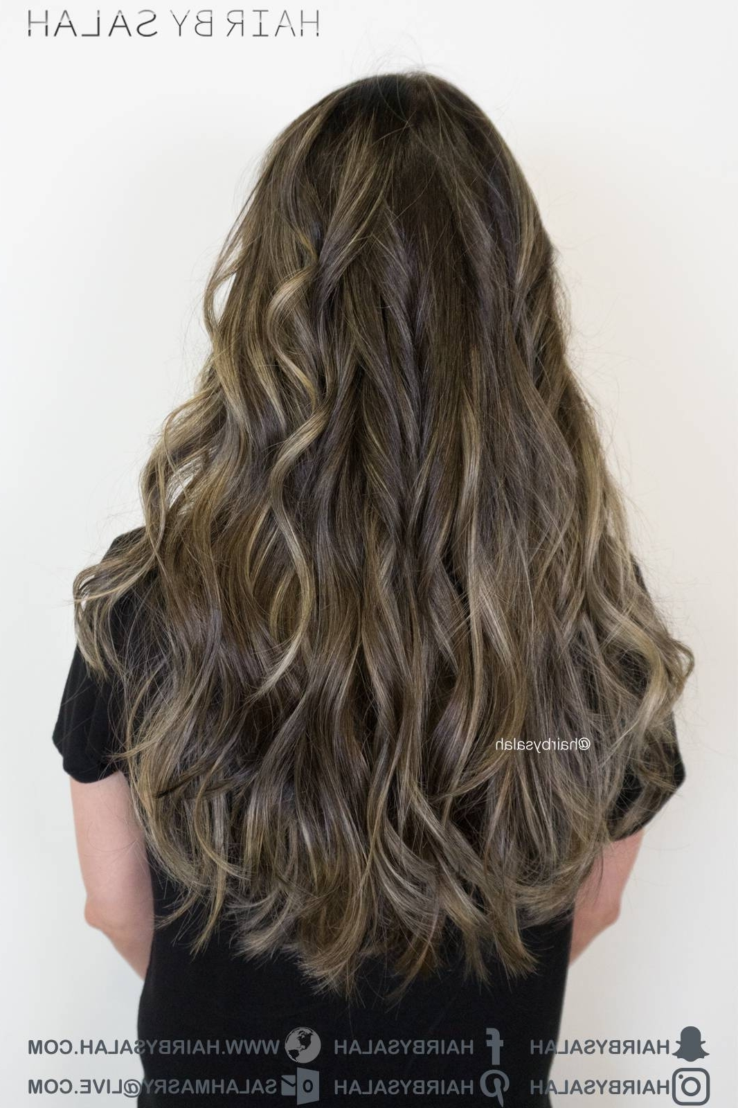 Light Beige Blonde Balayage – Hairsalah Intended For Fashionable Beige Balayage For Light Brown Hair (View 8 of 20)