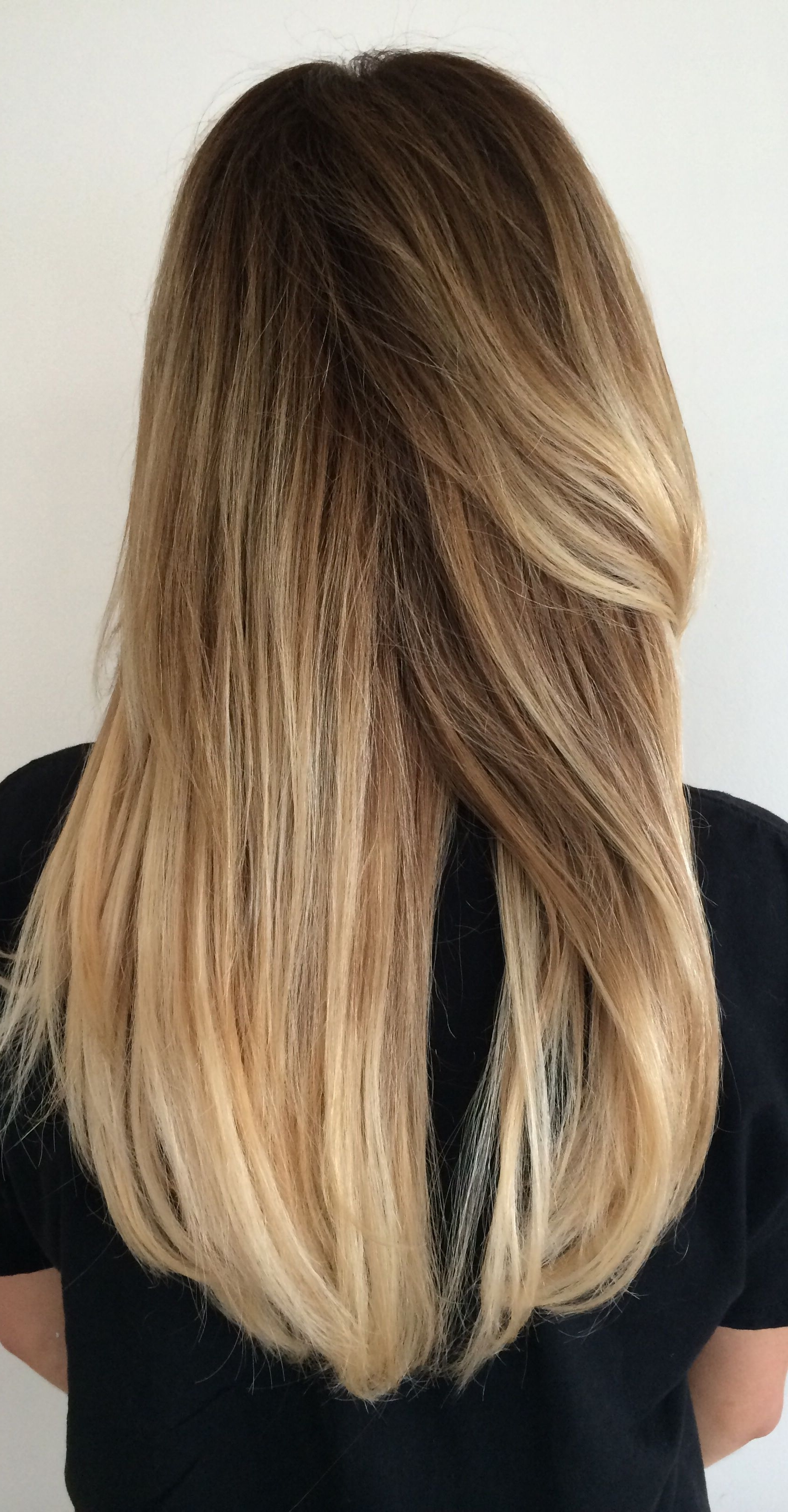 Long Blonde Hair / Balayage / Highlights / Sombre / Summer Hair With Most Up To Date Sun Kissed Blonde Hairstyles With Sweeping Layers (View 8 of 20)