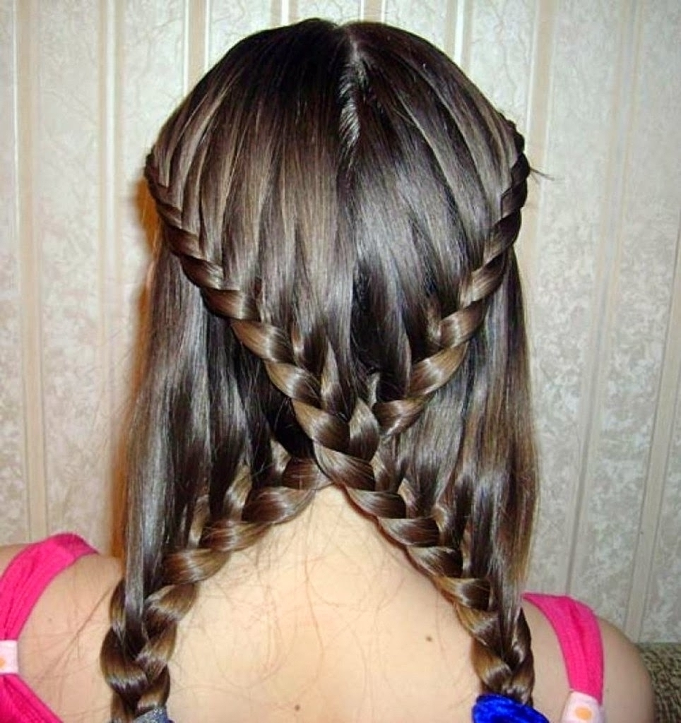 Long Curly Braided Hairstyle – Popular Long Hairstyle Idea Throughout Recent Wavy And Braided Hairstyles (View 12 of 20)