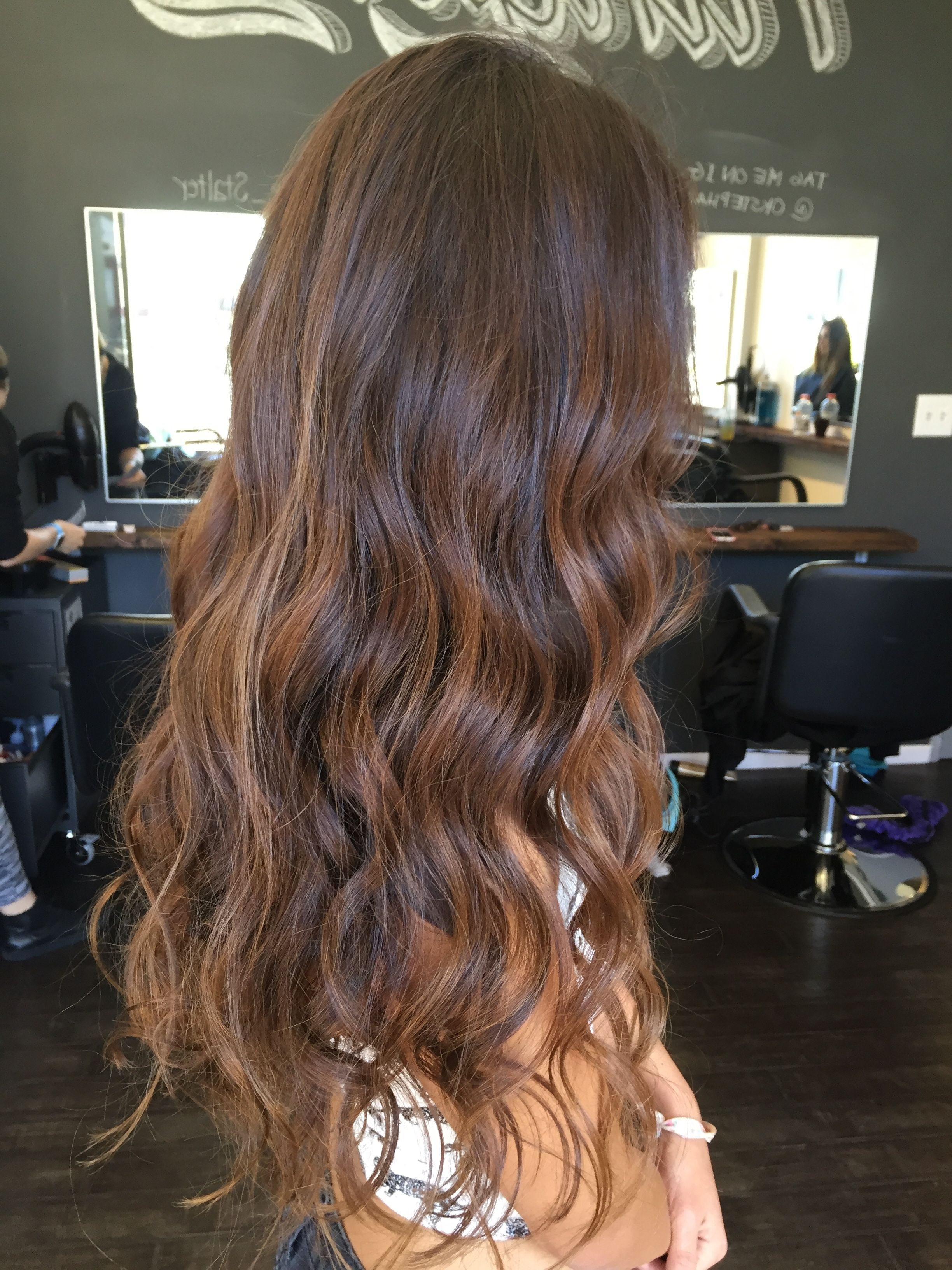 Long Surfer Girl Hair. Added Very Subtle Lighter Balayage Pieces To For Well Liked Piece Y Pixie Haircuts With Subtle Balayage (Gallery 20 of 20)