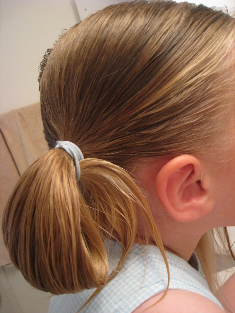 Looped Puppy Dog Ears Hairstyle – Babes In Hairland Throughout Most Recently Released Loose And Looped Ponytail Hairstyles (View 4 of 20)