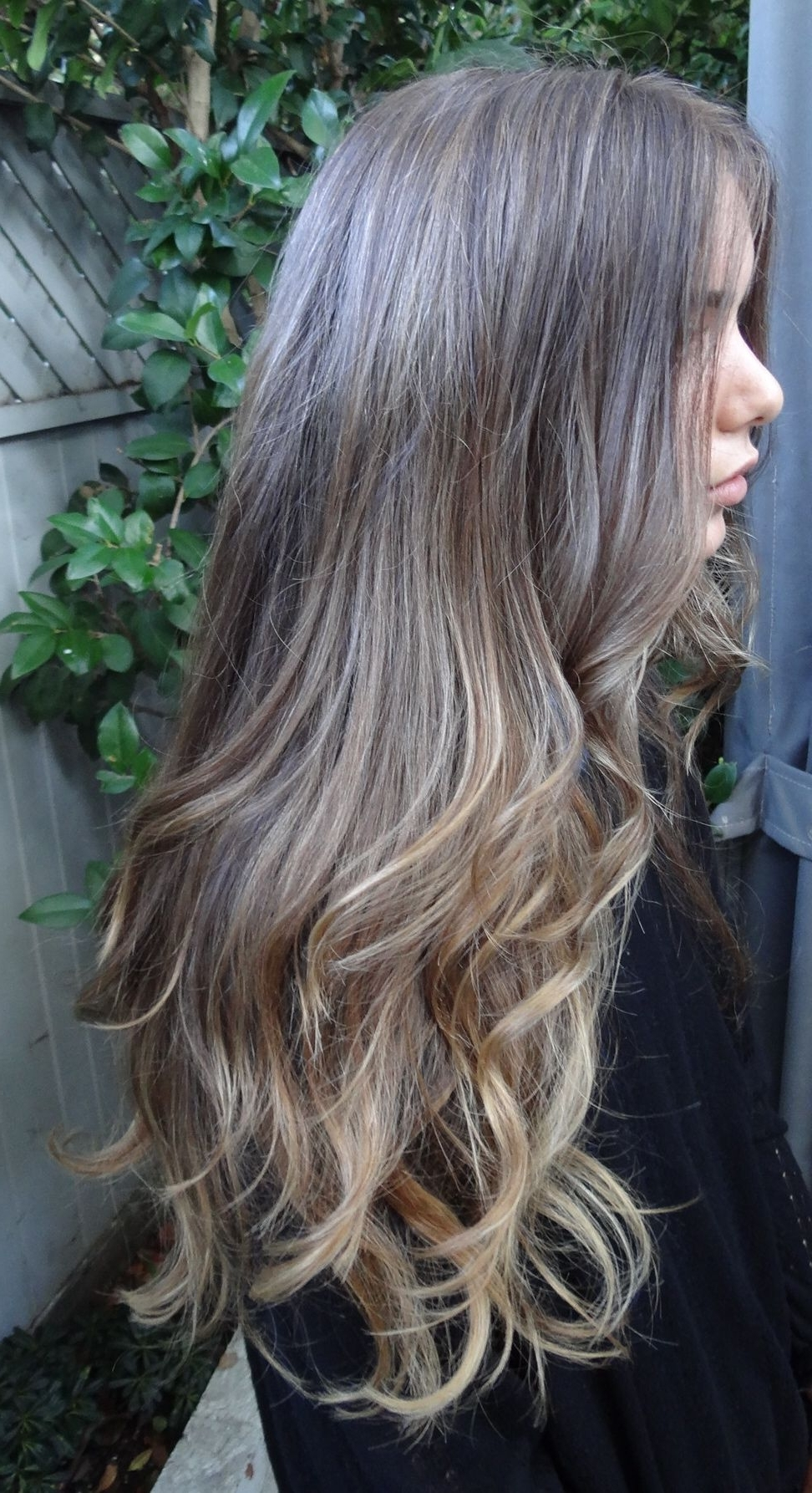 Medium Brunette With Soft Gold Tone Highlights Exactly What I Pertaining To Newest Brunette Hairstyles With Dirty Blonde Ends (View 11 of 20)
