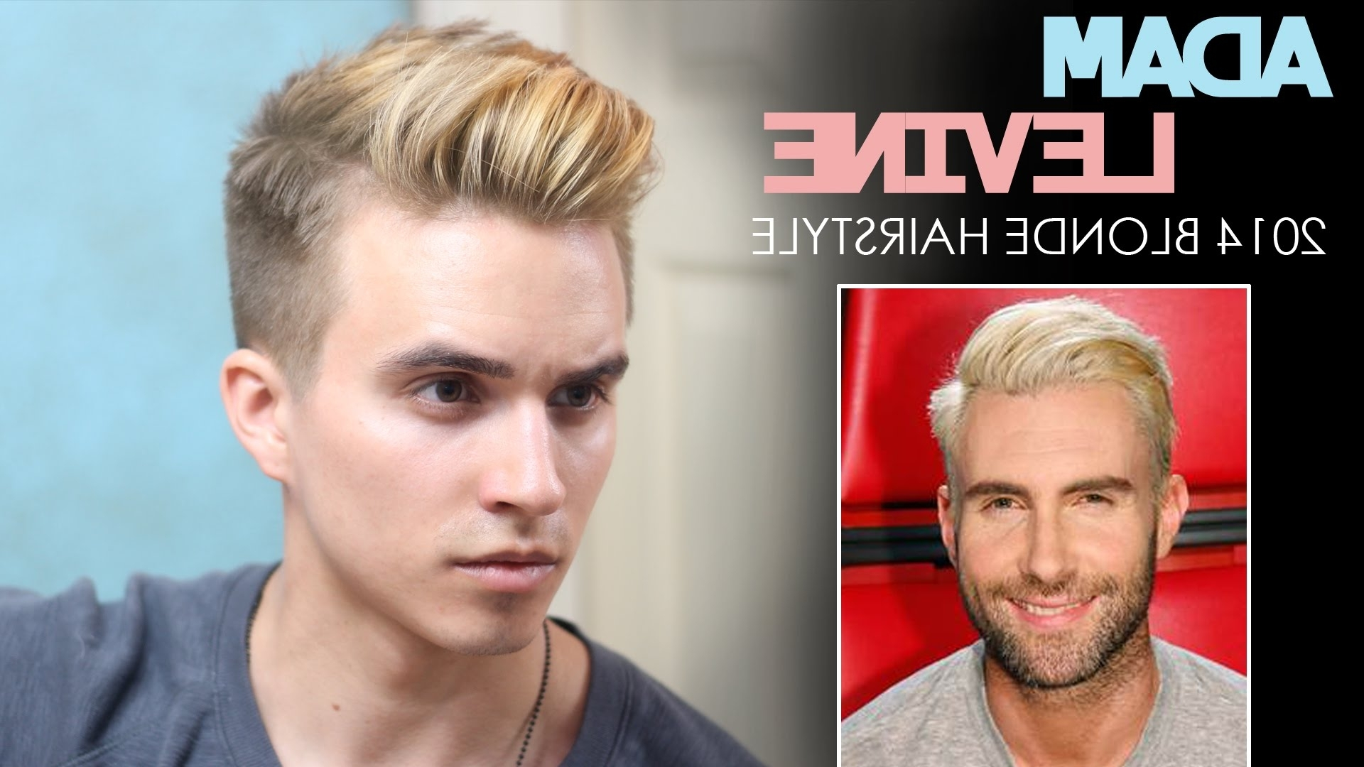 Men's Hairstyles Inside Most Current Long Top Undercut Blonde Hairstyles (View 12 of 20)