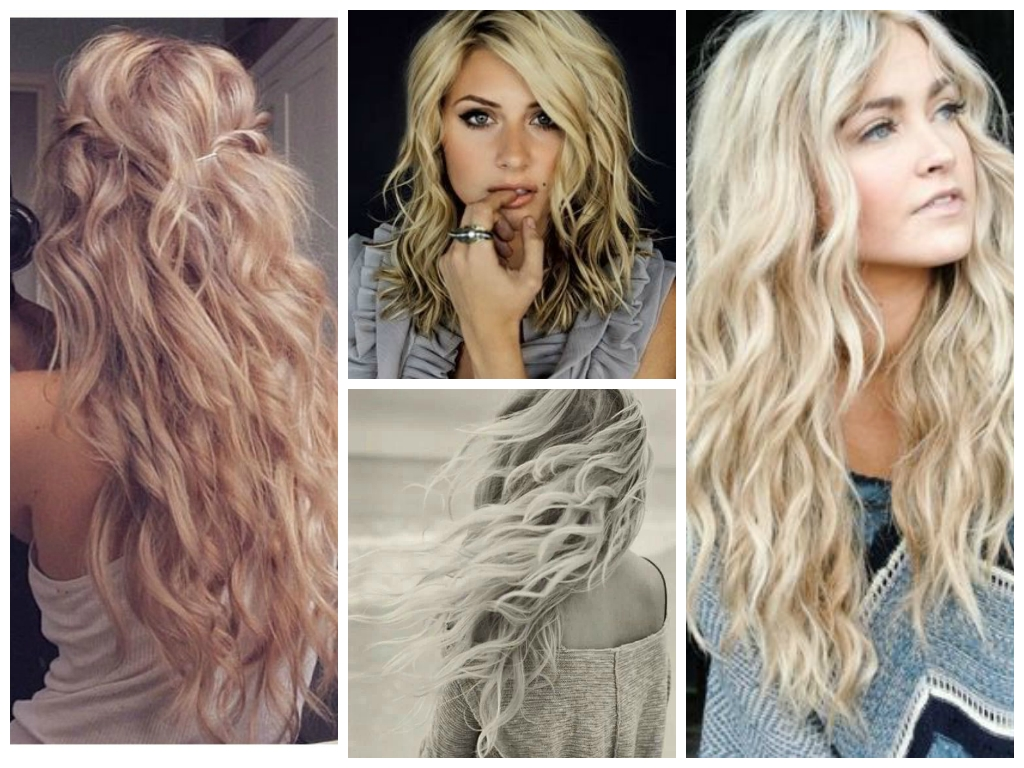 Messy Chic Hairstyles From Pinterest – Women Hairstyles Within 2017 Blonde Ponytail Hairstyles With Beach Waves (View 17 of 20)
