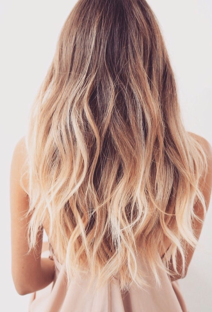 Moroccan Oil, Beachy Waves And With Well Liked Blonde Ombre Waves Hairstyles (View 11 of 20)