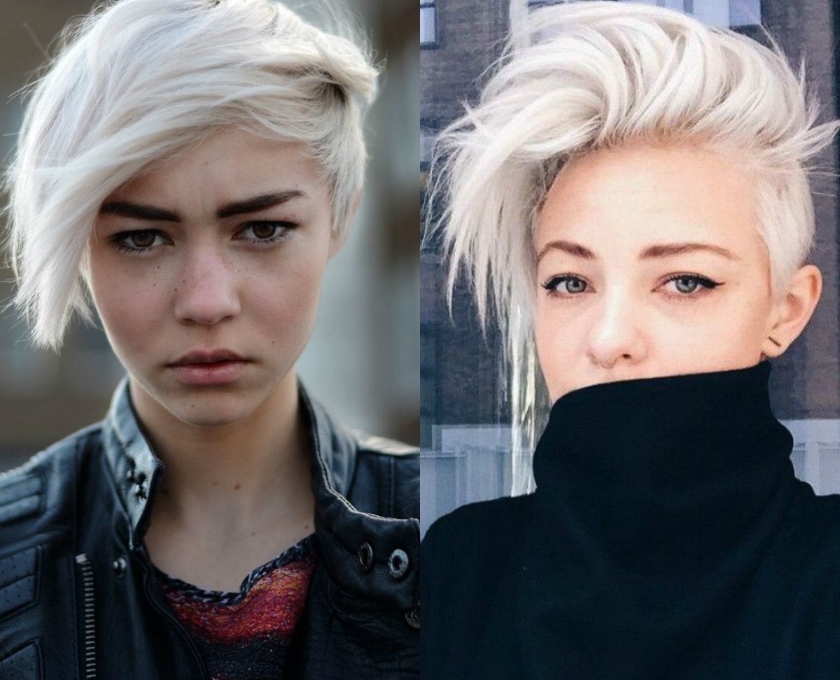 Most Current Bleach Blonde Pixie Hairstyles Within Fresh Cool Ideas On Blonde Pixie Haircuts (View 8 of 20)