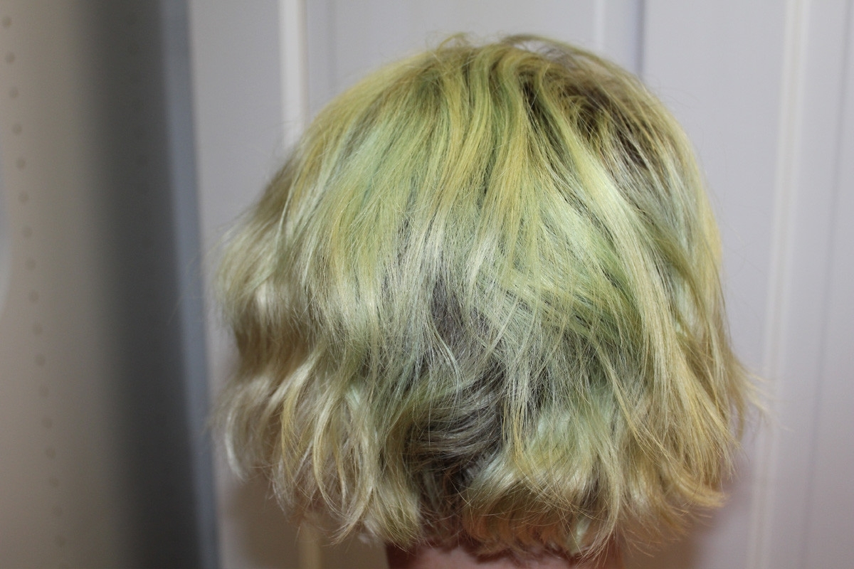 Most Current Blonde Hairstyles With Green Highlights Throughout How To Fix Your Hair When It Turns Green And You're 300 Miles Away (View 14 of 20)