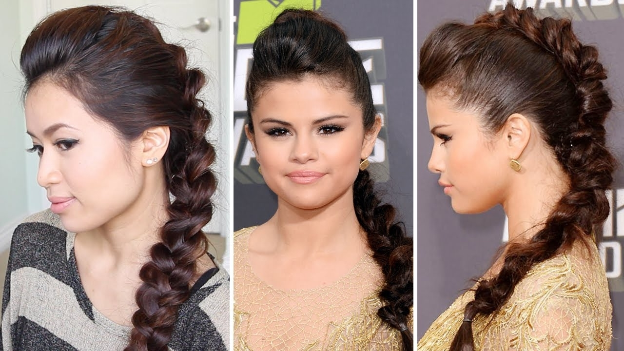 Most Current Braided Ponytail Mohawk Hairstyles Within Long Ponytail Hairstyles – Style Samba (View 16 of 20)