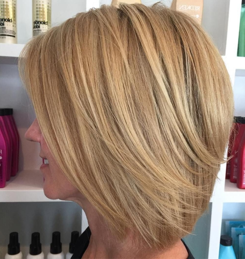 Most Current Curly Caramel Blonde Bob Hairstyles Intended For Best Fun And Flattering Medium Hair For Women Caramel Blonde Picture (View 14 of 20)