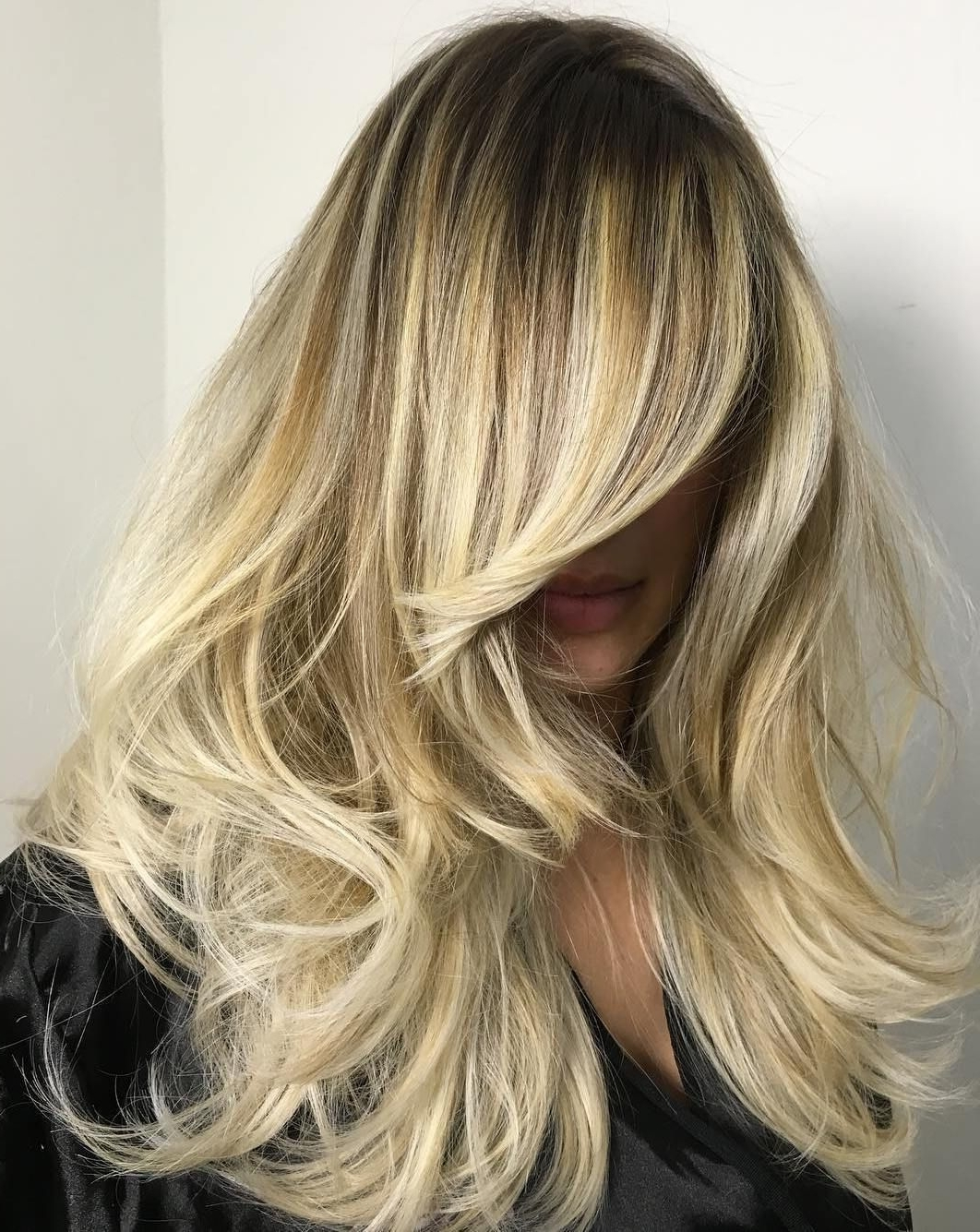 Most Current Fade To White Blonde Hairstyles Within 80 Cute Layered Hairstyles And Cuts For Long Hair (View 15 of 20)