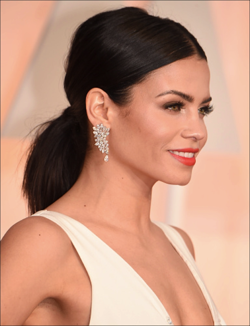 Most Current Glamorous Pony Hairstyles Regarding Best Hairstyle Trends 2015, 2016: How To Get The Oscars Look: Chic (View 15 of 20)