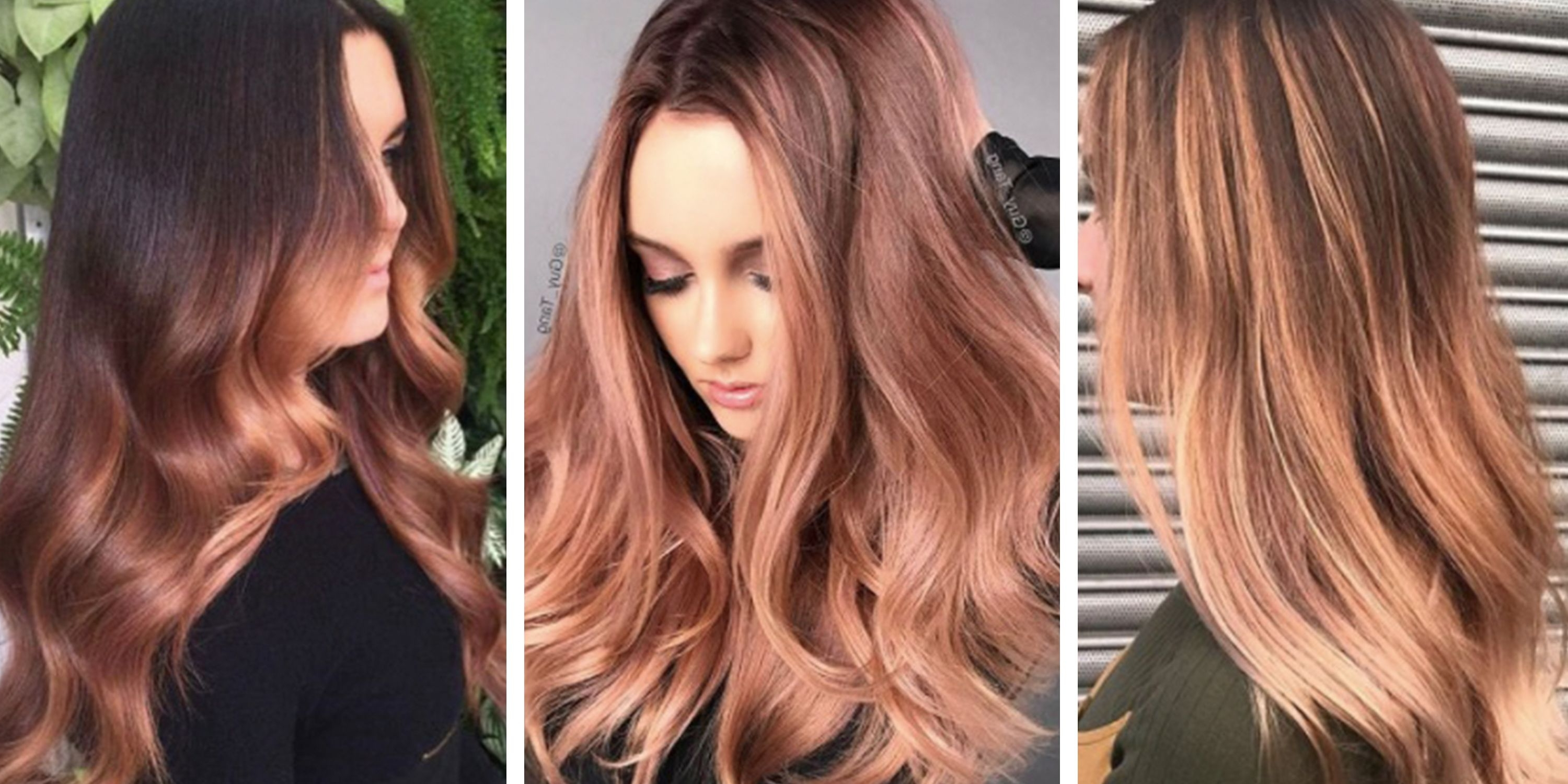 Most Current Golden Bronze Blonde Hairstyles Inside Rose Gold Hair – 17 Of The Best Colours And Dyes On The Internet (View 18 of 20)