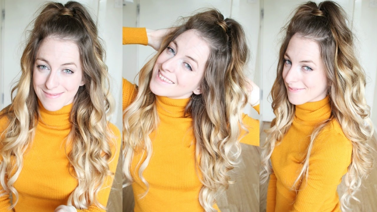 Featured Photo of Half Up Half Down Ponytail Hairstyles