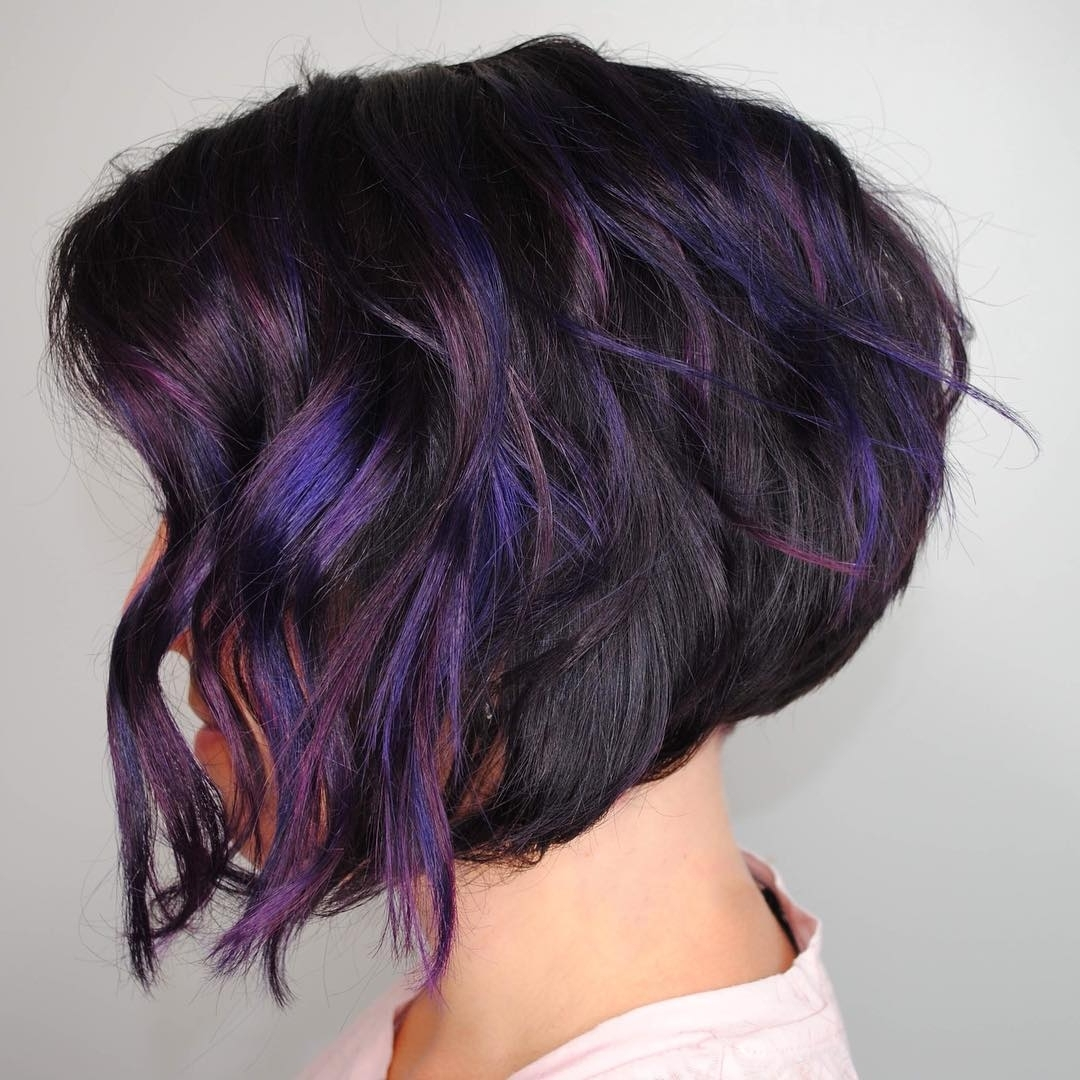Most Current Lavender Pixie Bob Hairstyles With 30 Asymmetrical Bob Hairstyles To Astonish Everyone – Page 6 Of (View 16 of 20)