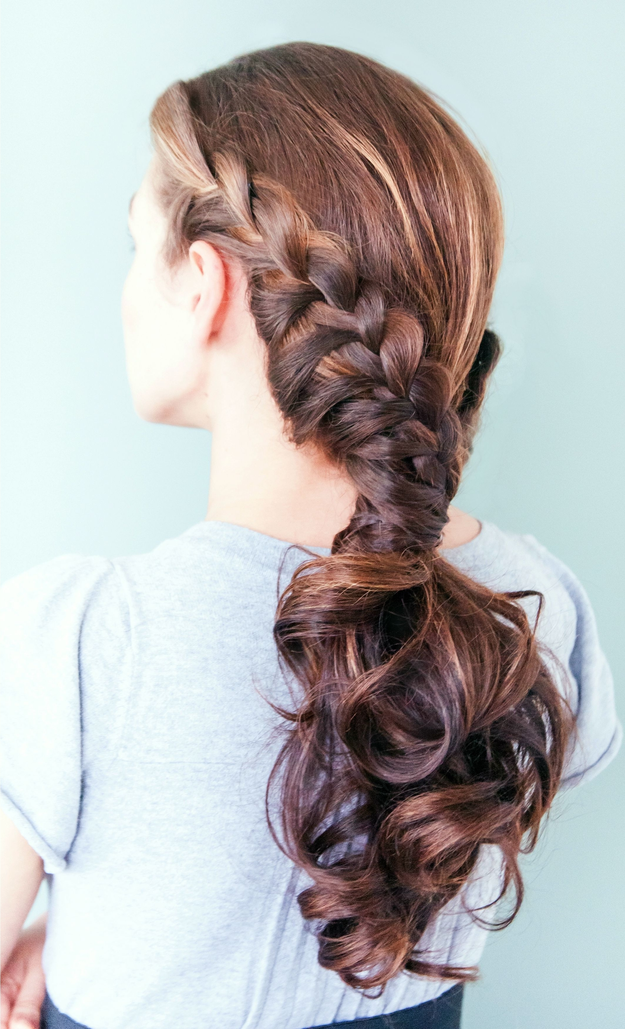 Most Current Messy Pony Hairstyles With Lace Braid With Day 28 – The Zipped Up Ponytail (View 17 of 20)