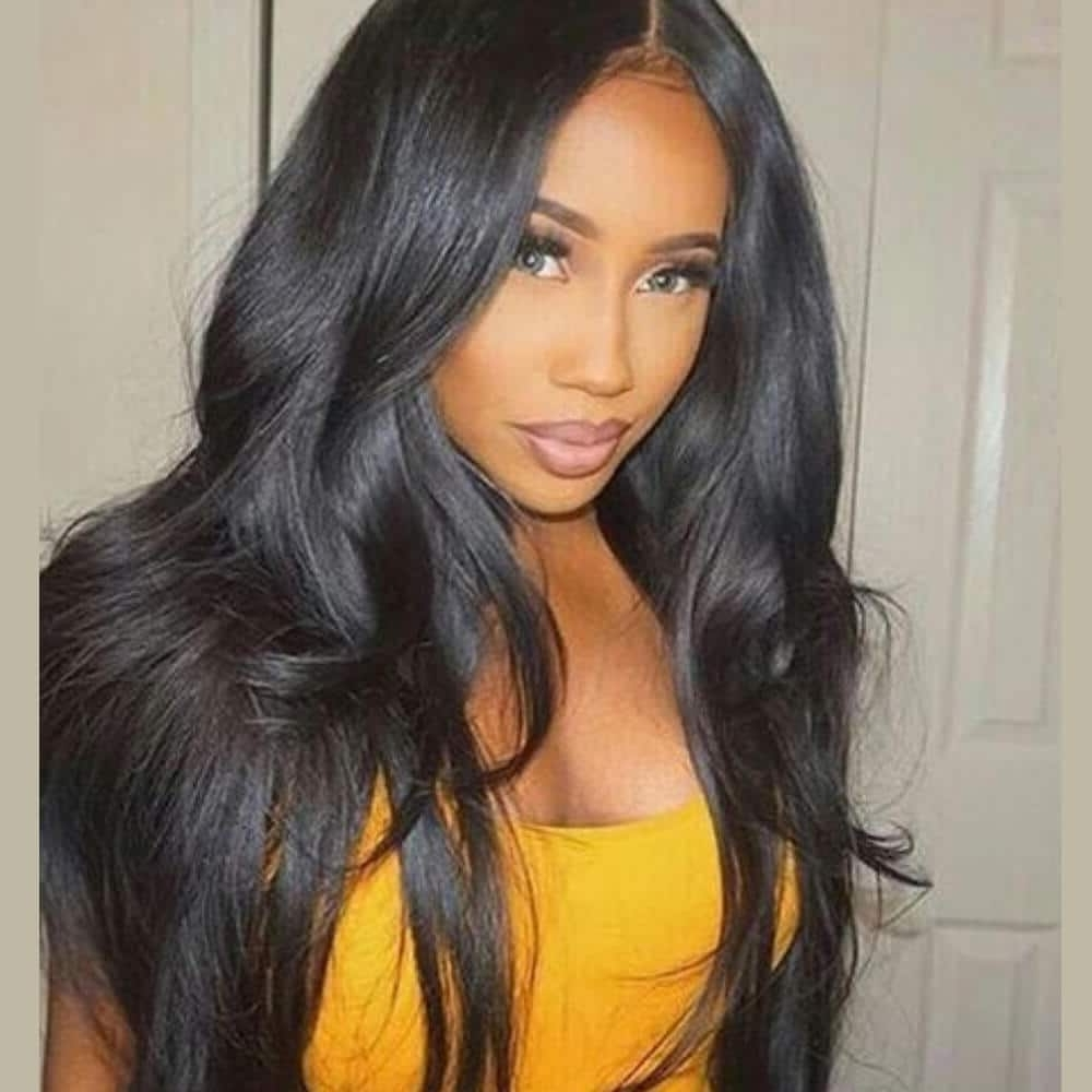 [%most Current Natural Color Waves Hairstyles Regarding Brazilian Human Hair Natural Color Natural Wave 150% Lace Wigs 2|brazilian Human Hair Natural Color Natural Wave 150% Lace Wigs 2 Regarding Popular Natural Color Waves Hairstyles%] (View 14 of 20)