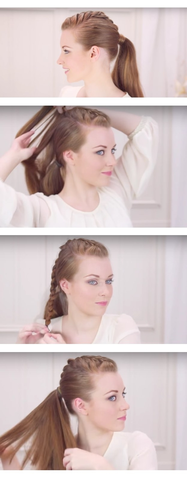 Most Current Punky Ponytail Hairstyles Intended For 38 Glam Ponytail Tutorials – Page 2 Of 4 – The Goddess (View 11 of 20)