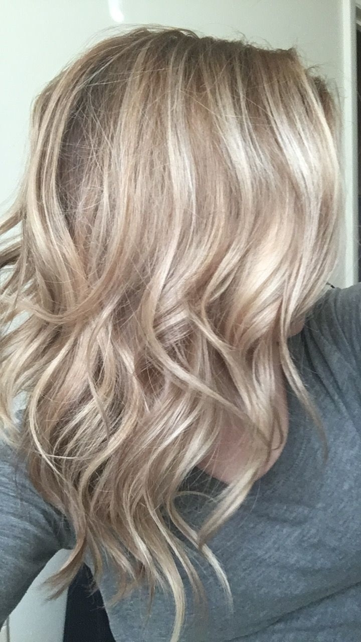 Most Current Sandy Blonde Hairstyles With Balayaged Sandy Blonde Donejanie At Shear Innovations Hair And (View 11 of 20)