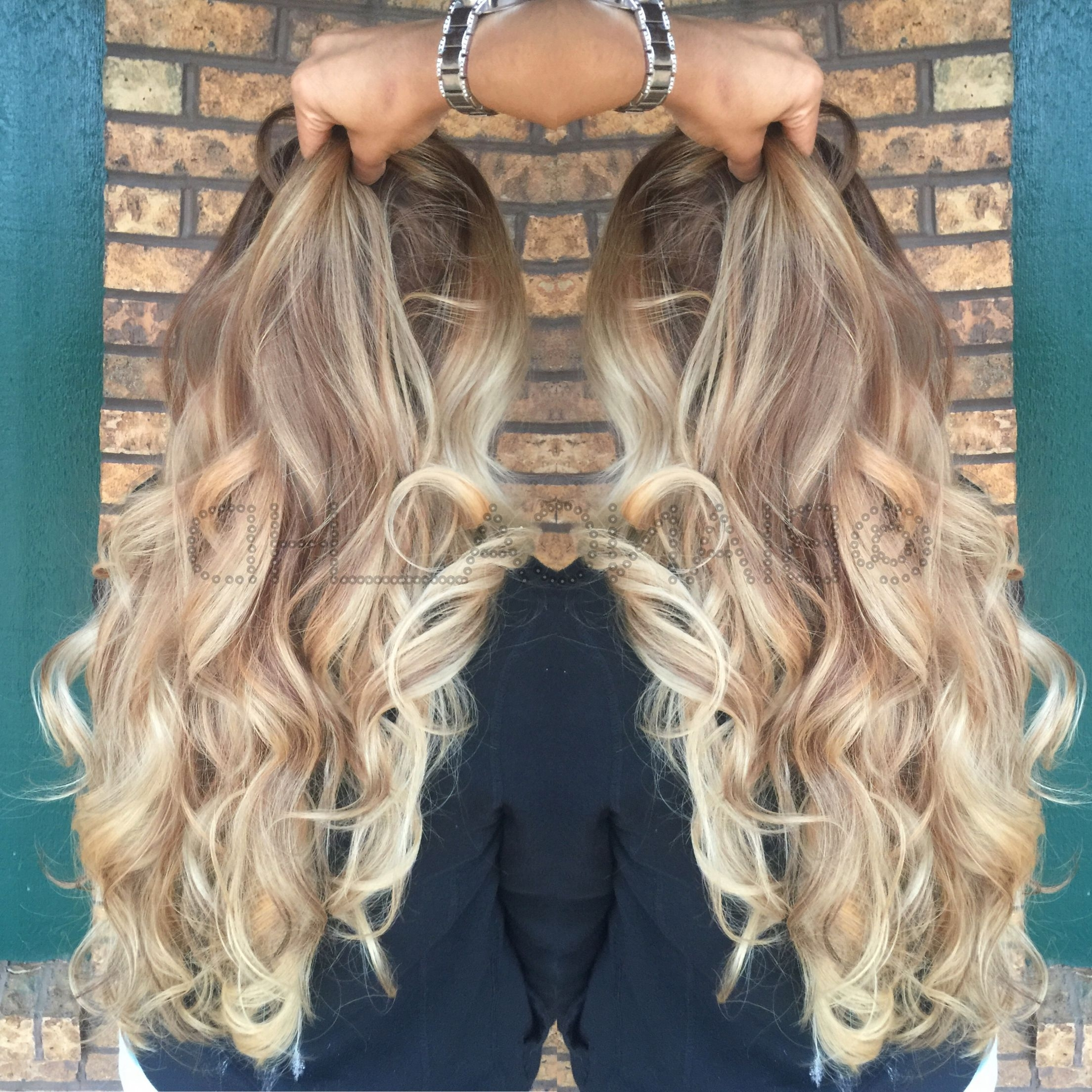 Most Current Sexy Sandy Blonde Hairstyles Within Sexy Curls Sandy Blonde Ombré Balayage (View 14 of 20)