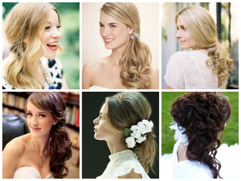 Most Current Soft Half Up Ponytail Hairstyles With Half Up Half Down Wedding Day Hairstyles – Hair World Magazine (View 14 of 20)