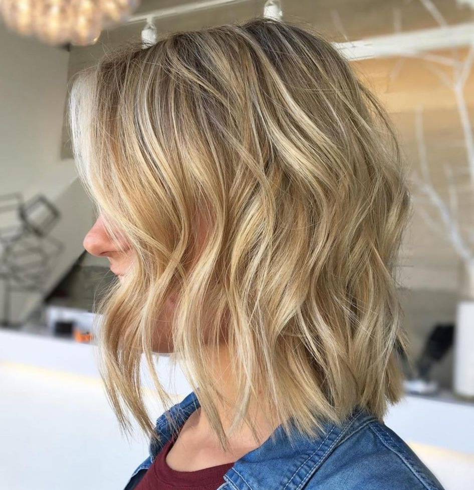 Most Current Thin Platinum Highlights Blonde Hairstyles For 70 Devastatingly Cool Haircuts For Thin Hair (View 10 of 20)