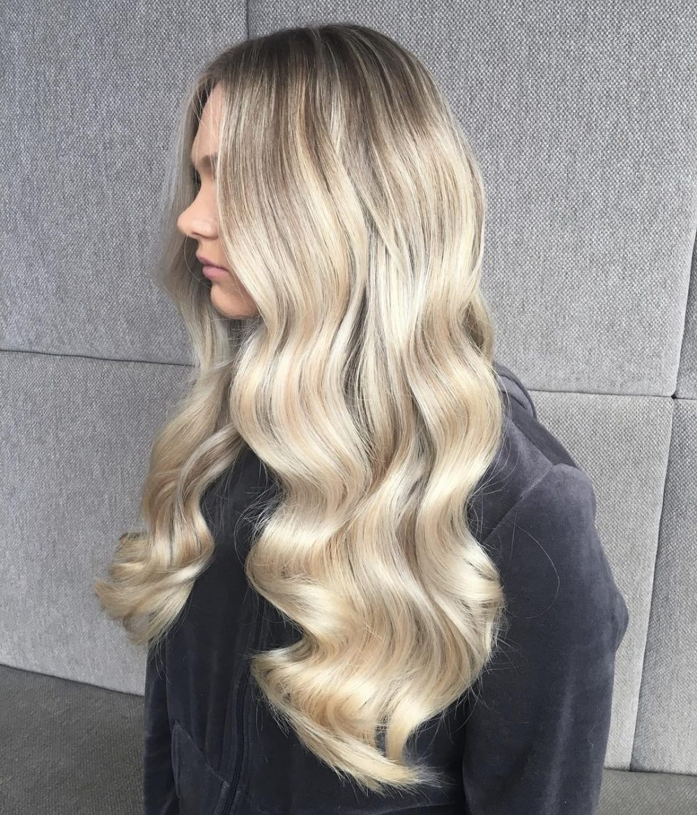 Most Current White Blonde Hairstyles For Brown Base Throughout 30 Top Long Blonde Hair Ideas – Bombshell Alert! (View 15 of 20)