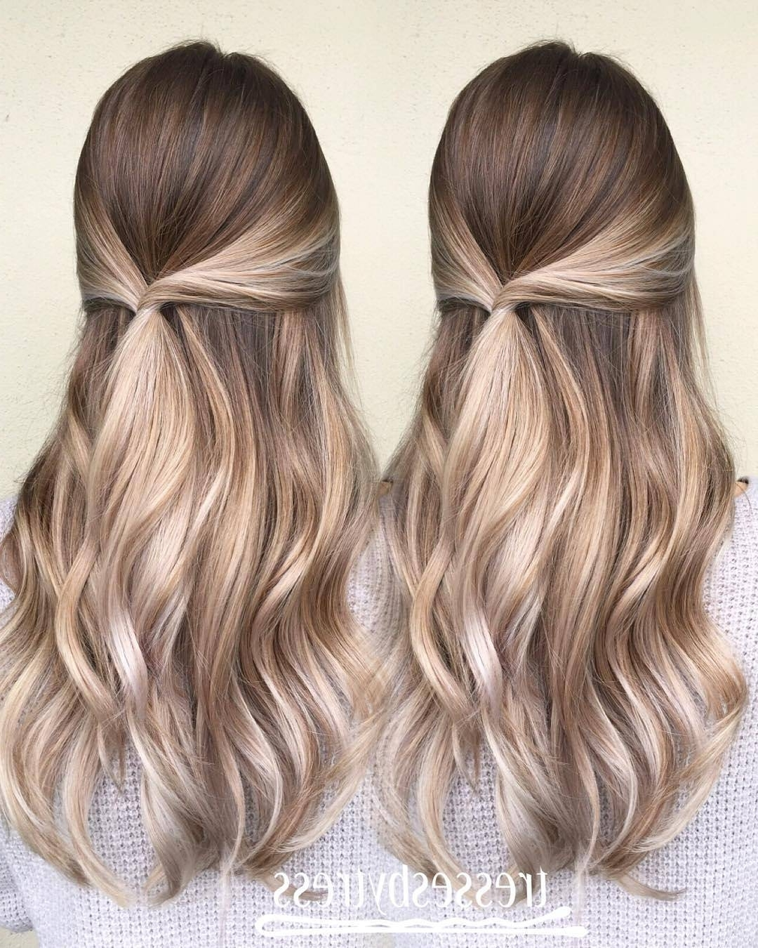 Most Popular Beige Balayage For Light Brown Hair Within 10 Blonde Balayage Hair Color Ideas In Beige Gold Silver & Ash (View 12 of 20)