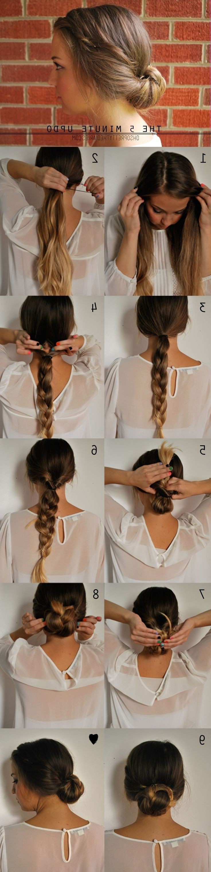 Most Popular Bouffant And Braid Ponytail Hairstyles Throughout 15 Cute Hairstyles: Step By Step Hairstyles For Long Hair – Popular (View 15 of 20)
