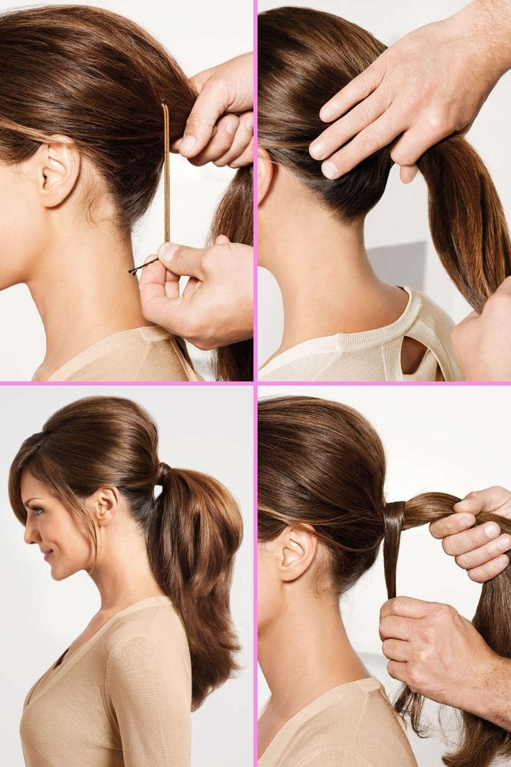 Most Popular Bouffant Ponytail Hairstyles Within Trick For Tight Bouffant Ponytail ~ Entertainment News, Photos (View 14 of 20)