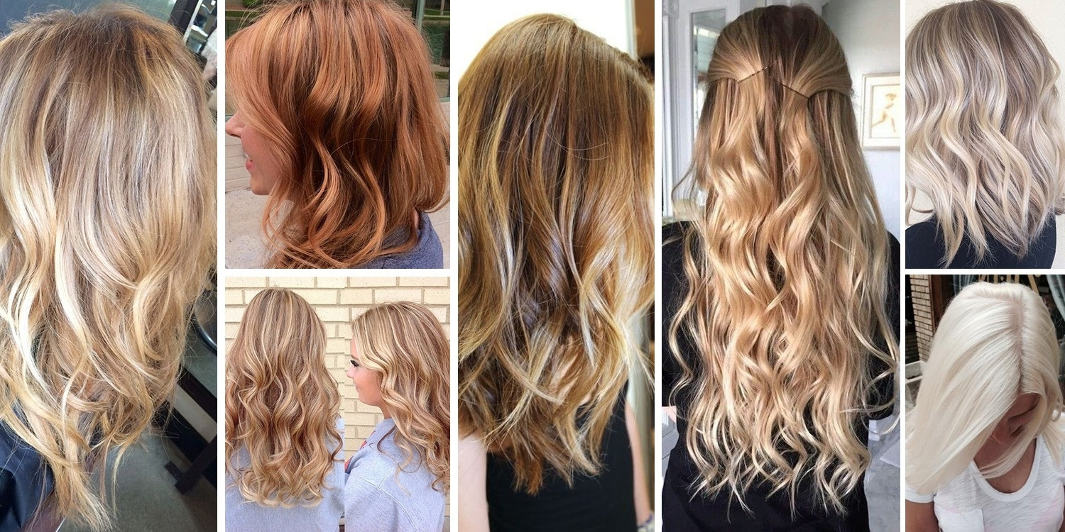 Most Popular Caramel Blonde Hairstyles Within Fabulous Blonde Hair Color Shades & How To Go Blonde (View 15 of 20)