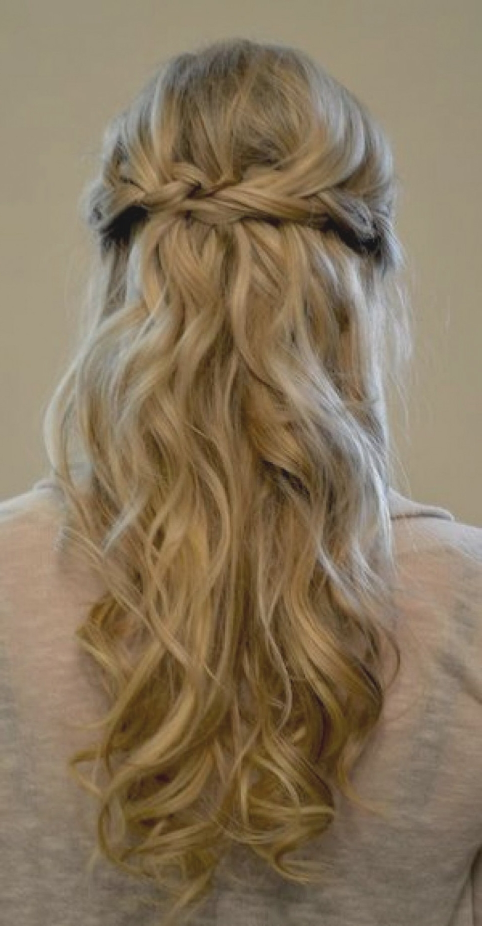 Most Popular Formal Half Ponytail Hairstyles Inside Simple Braided Prom Half Updo Hairstyle For Long Hair – Popular (View 13 of 20)