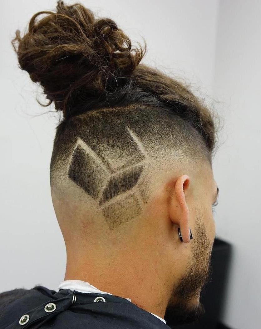 Most Popular Hot High Rebellious Ponytail Hairstyles With 25 Sexy Man Bun Styles You Need To Know (View 12 of 20)
