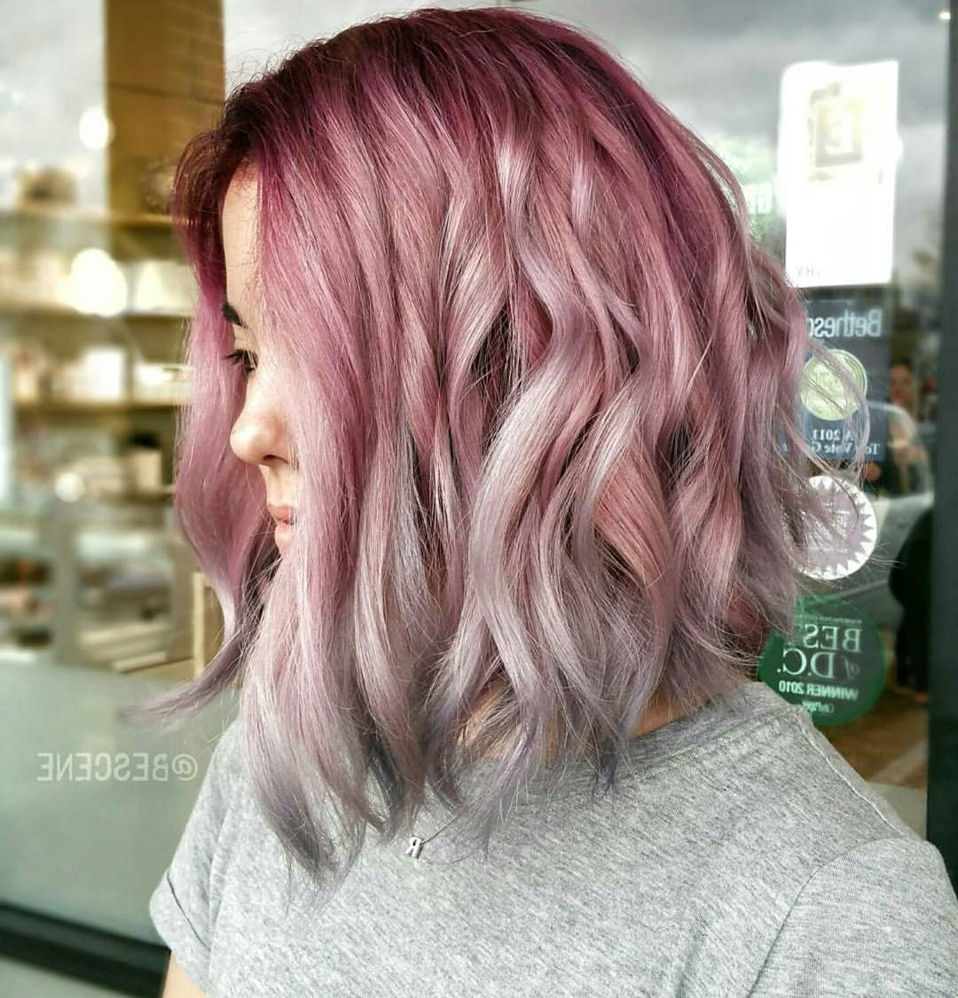 [%most Recent Angled Wavy Lob Blonde Hairstyles For 30 Edgy Medium Length Haircuts For Thick Hair [august, 2018]|30 Edgy Medium Length Haircuts For Thick Hair [august, 2018] Intended For Most Recent Angled Wavy Lob Blonde Hairstyles%] (View 14 of 20)
