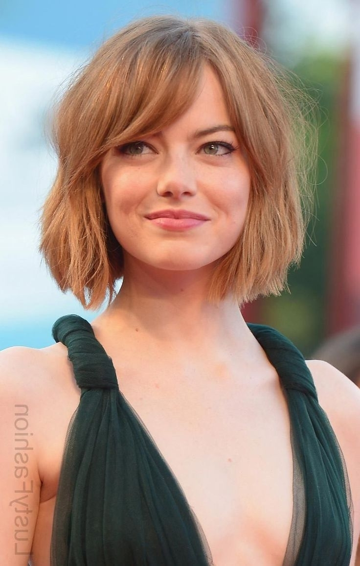 Most Recent Blonde Lob Hairstyles With Sweeping Bangs With Image Result For Lob With Side Swept Bangs  (View 13 of 20)