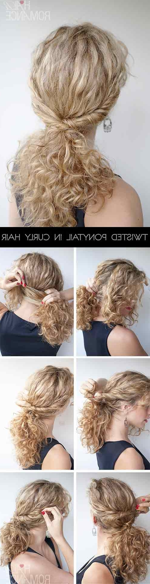 Most Recent Botticelli Ponytail Hairstyles Within 20 Amazing Hairstyles For Curly Hair For Girls (View 10 of 20)
