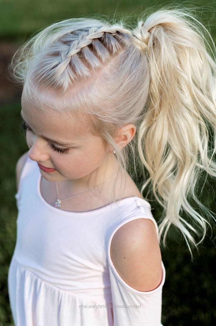 Most Recent Bubbly Blonde Pony Hairstyles For Hair Styles (View 4 of 20)