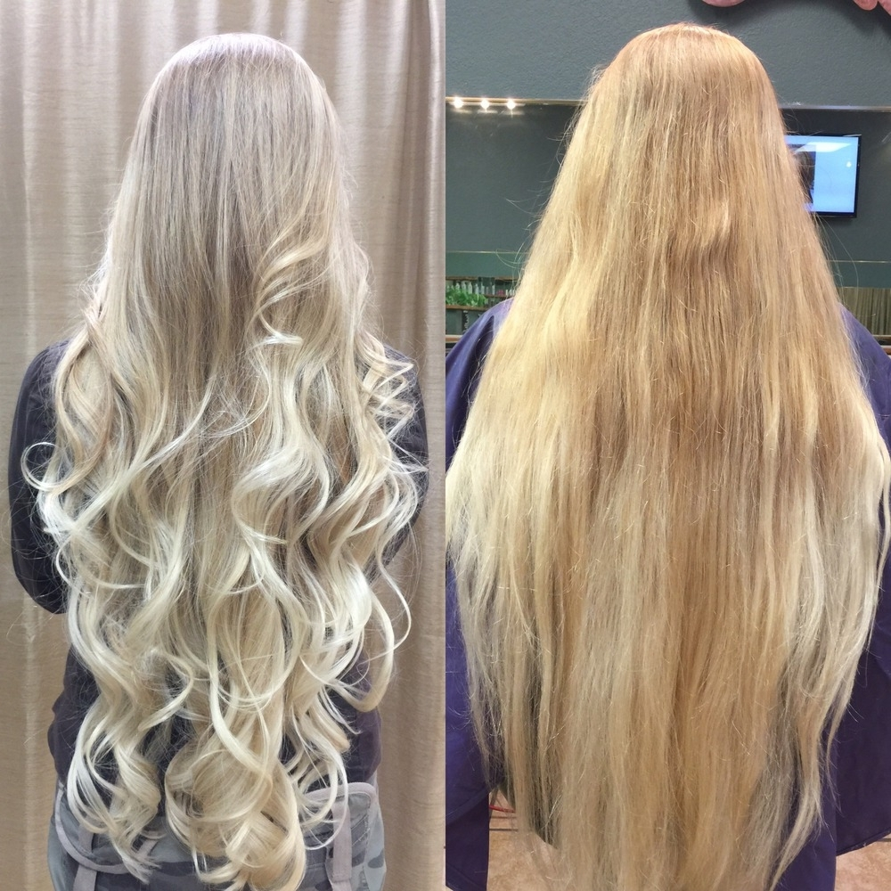 Most Recent Dark Blonde Hairstyles With Icy Streaks Regarding Hair Color – Hair Salon Services – Best Prices – Mila's Haircuts In (View 12 of 20)